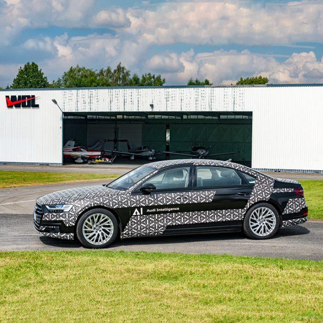 Audi A8 AI mit Staupilot - Foto: Sandra Schink